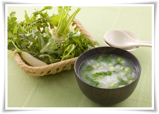 七草粥の種類と栄養素まとめ!むくみ解消やダイエットの効能も?1