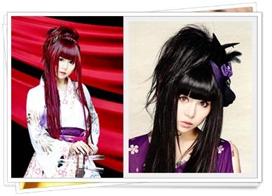蜷川べに(和楽器バンド)の年齢や本名は?かわいい髪型やモデルの噂も髪型2