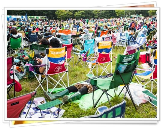 フジロックフェスティバルの初心者の為の服装や持ち物!行き方も!椅子