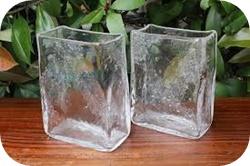 生け花 花器ガラス四角