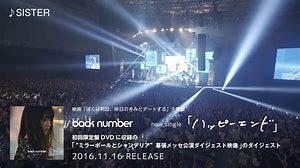back number tour(アリーナツアー)2019のセトリ!日程やチケットも!3
