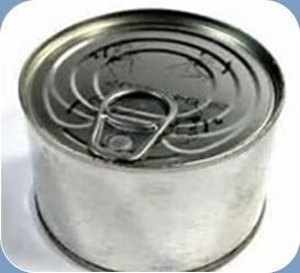 缶詰 未開封の缶詰